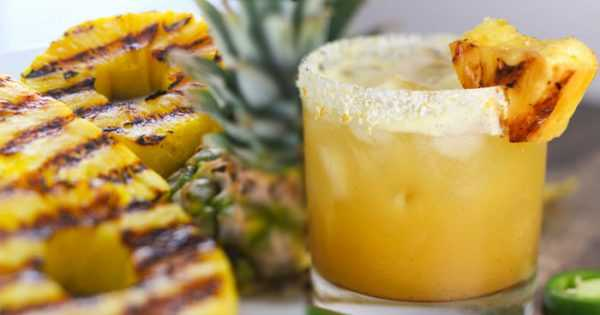 Grilled Pineapple Jalapeno Margritia, 20 Best Summer Cocktails