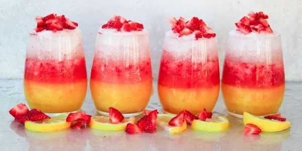 Layered Lemonade Drops, 20 Best Summer Cocktails