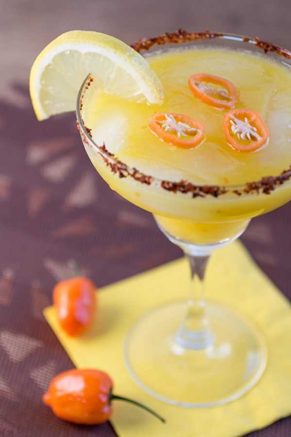 Mango Habanero Margarita, Cinco De Mayo Food and Drink Ideas