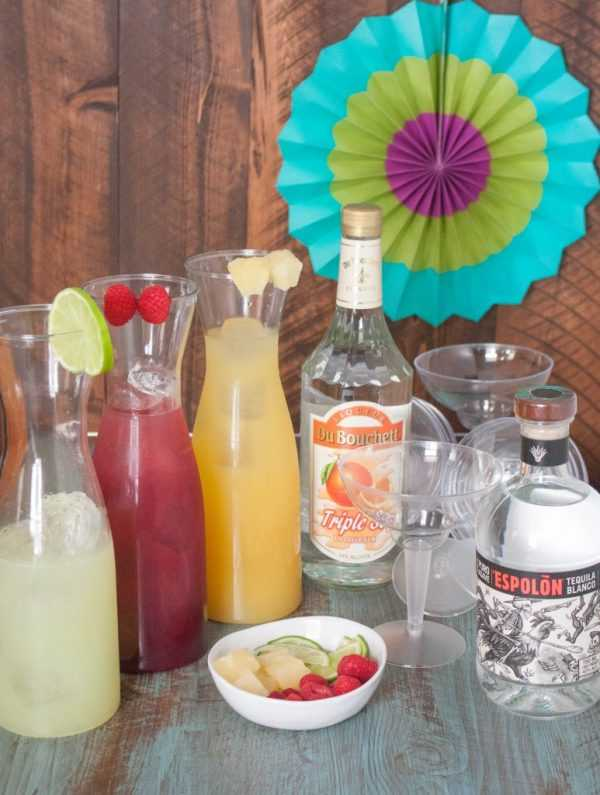 Margarita Bar, Cinco De Mayo Food and Drink Ideas