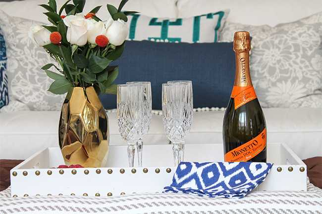 Host A Chic Weekend Party + Hosting Tips