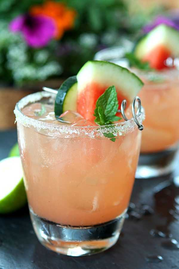 The Firecracker - Watermelon, Lime and Cucumber Cocktail, 20 Best Summer Cocktails