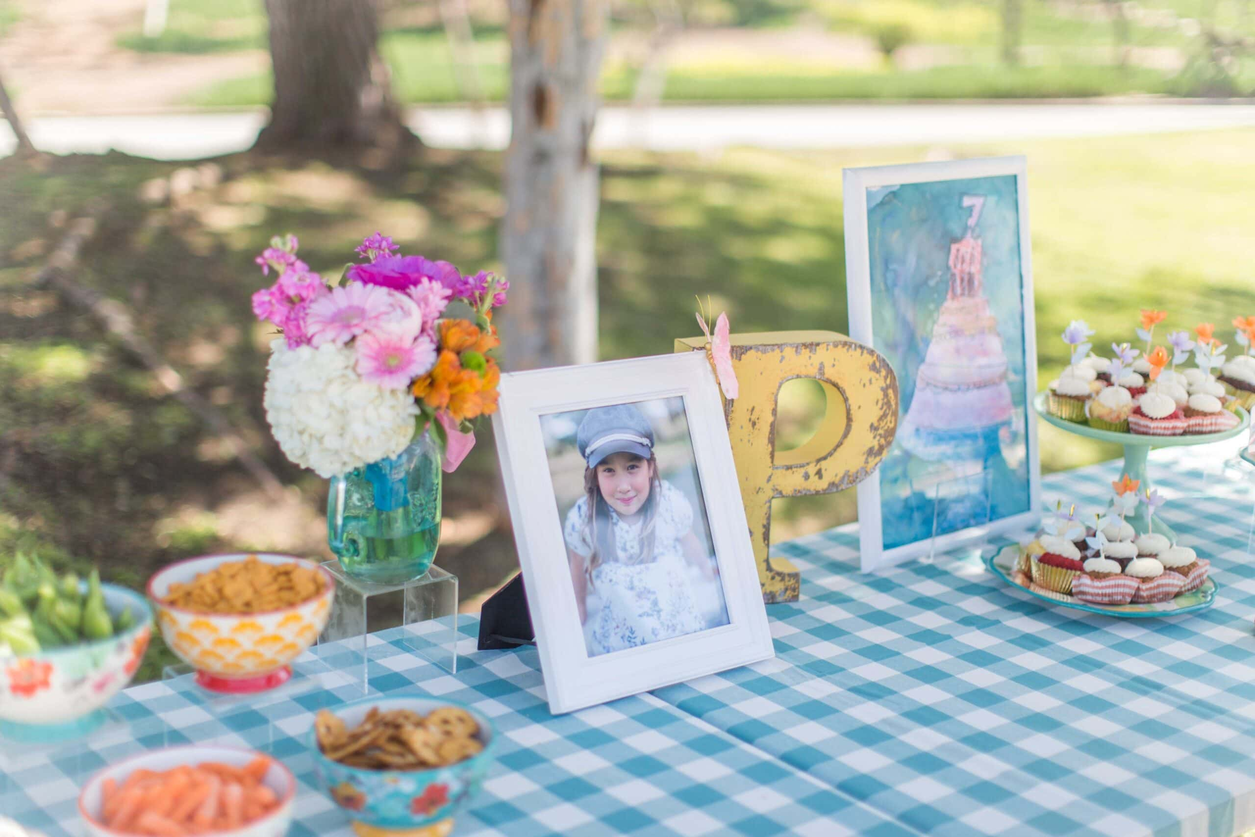 Pioneer Woman Girl's Birthday Party