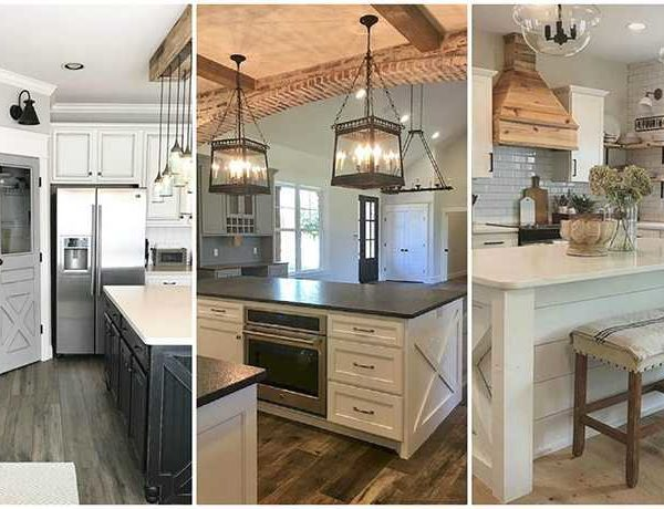20 Farmhouse Kitchen Ideas for Fixer Upper Style + Industrial Flare