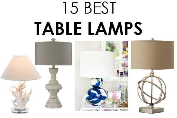 15 Best Table Lamps