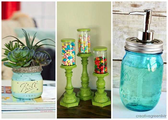 20 Ways to Use Mason Jars
