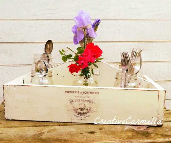 Mason Jar Utensil Holder, 20 Ways to Use Mason Jars