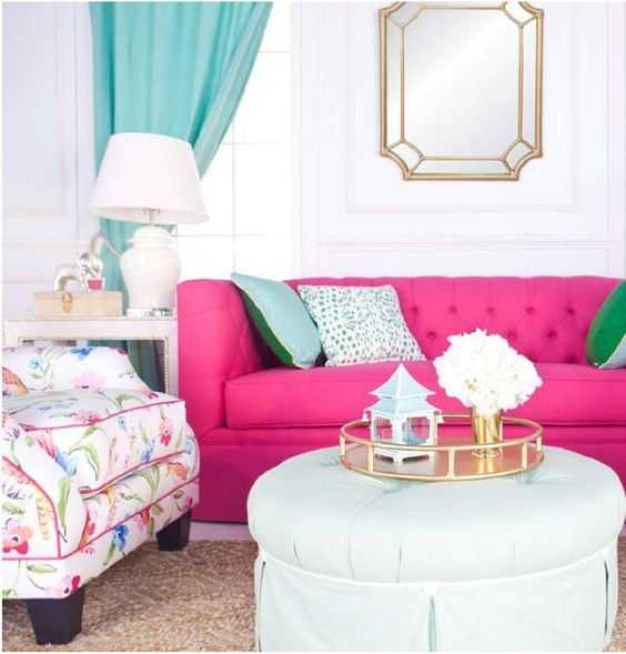 How To Decorate With Hot Pink + The Best Hot Pink Paint Colors