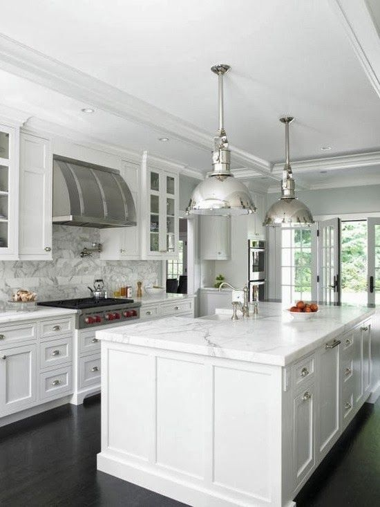 Gorgeous White Kitchen Ideas - Modern, Farmhouse, Coastal Kitchens