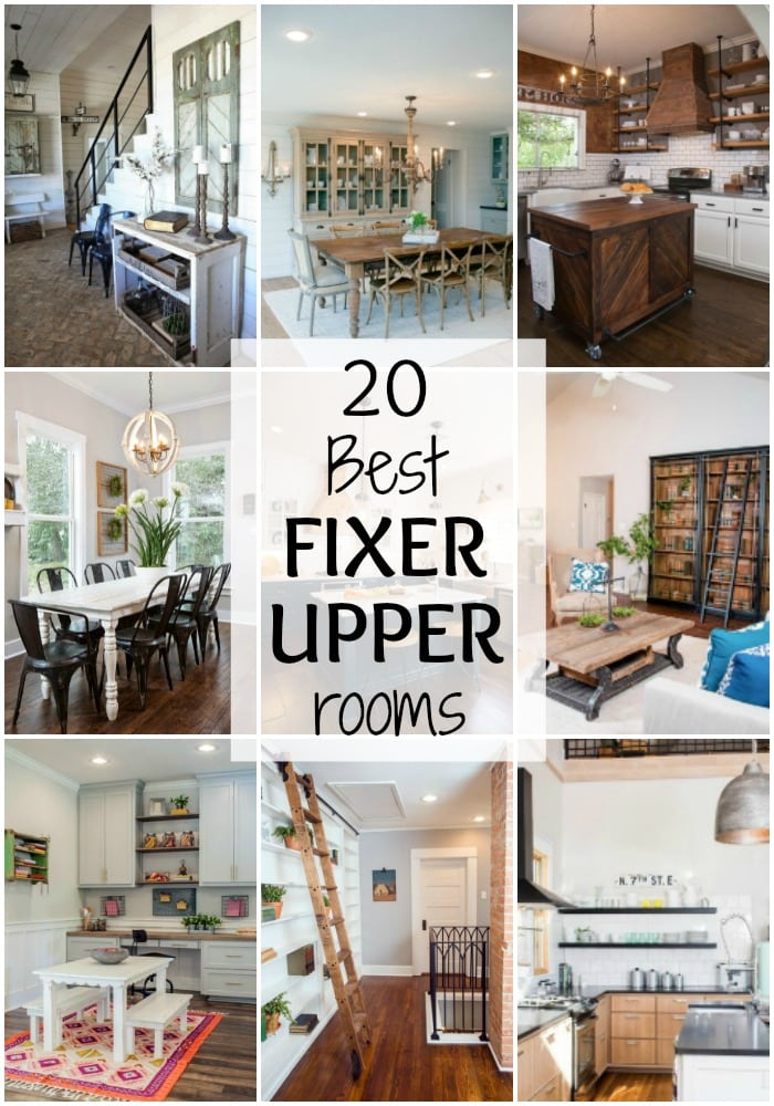 20 best fixer upper rooms magnolia home favorites a blissful nest. Black Bedroom Furniture Sets. Home Design Ideas