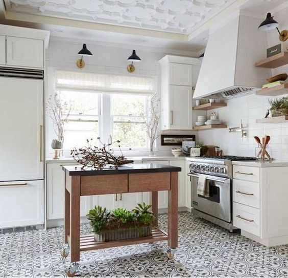 Vintage These gorgeous white kitchen ideas range from modern to farmhouse and all in between Get