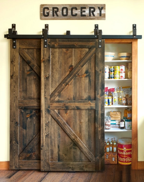 Country Living 20 Sliding Barn Door Ideas & Sliding Barn Door Ideas to Get The Fixer Upper Look pezcame.com