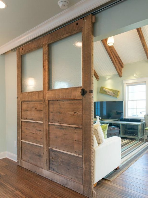 Sliding Barn Door Designs: Sliding Barn Door Ideas To Get The Fixer Upper Look