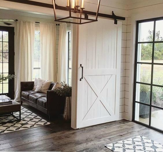Fresh Barn Door Interior Design