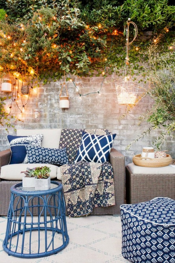 MyDomaine, 20 Best Patio Spaces via A Blissful Nest
