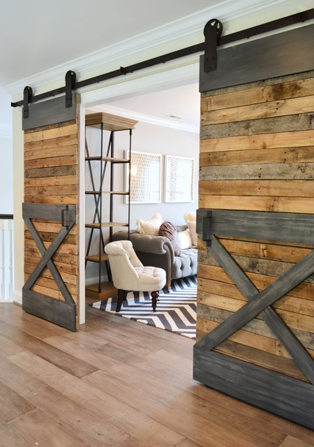 Young House Love 20 Sliding Barn Door Ideas : barn door designs - pezcame.com