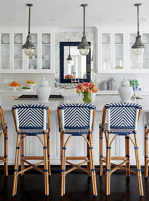 Blue And White Kitchen Ideas Part - 35: These Gorgeous White Kitchen Ideas Range From Modern To Farmhouse And All  In Between. Get