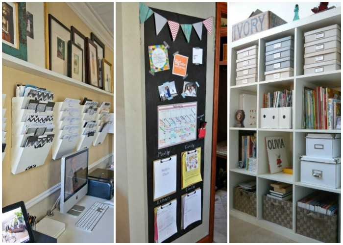 15 ways to organize your home office by a blissful nest Organizing your home