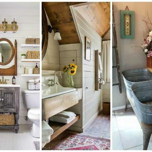 Top 10 Fixer Upper Bathrooms: Sliding Barn Door Ideas To Get The Fixer Upper Look