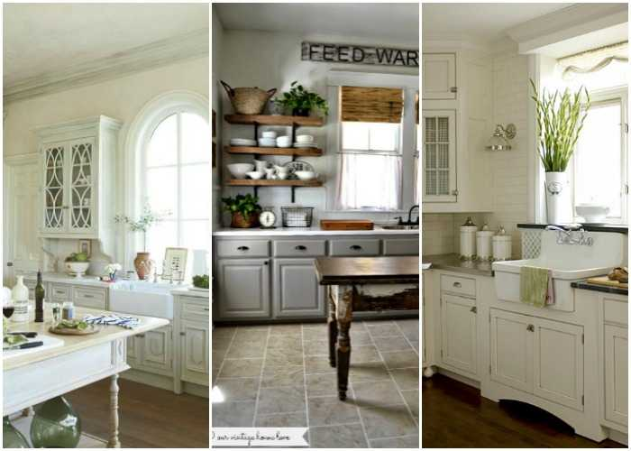 20 Farmhouse Kitchens