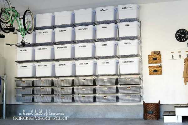 Garage Storage Tubs, 20 Tips to Organize the Garage