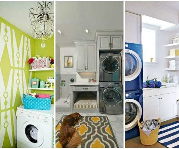 20 Creative Laundry Room Ideas