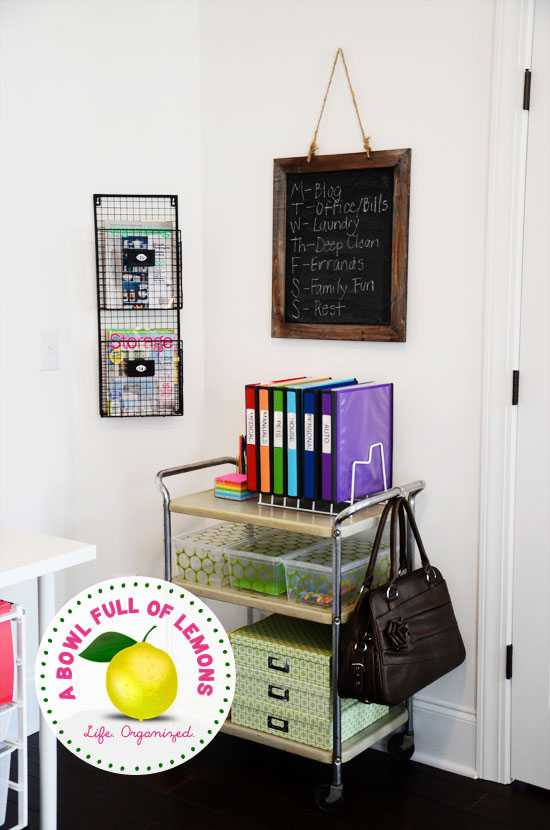 15 Ways to Organize the Home Office