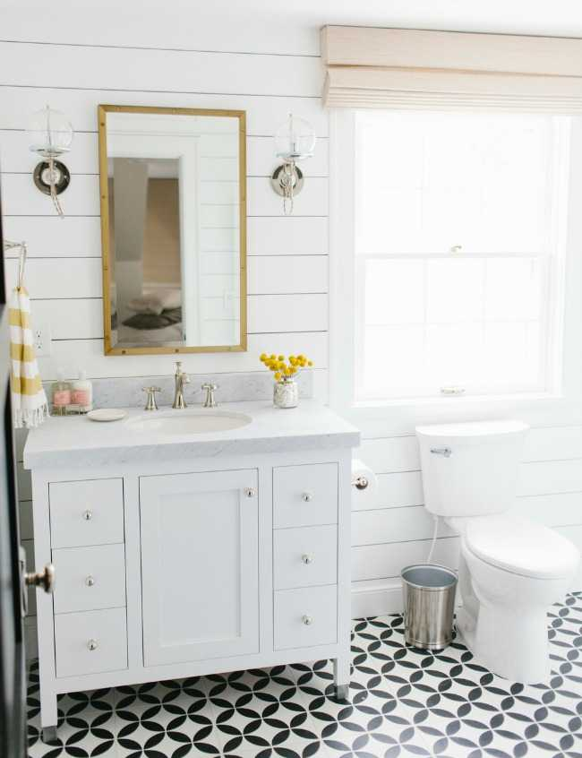 Studio McGee Lynwood Remodel, 20 Best Farmhouse Bathrooms . #ABlissfulNest  #InteriorDesign #Decorator