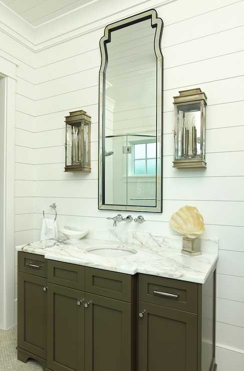 Bathroom Mirrors Farmhouse 20 best farmhouse bathrooms to get that fixer upper style!