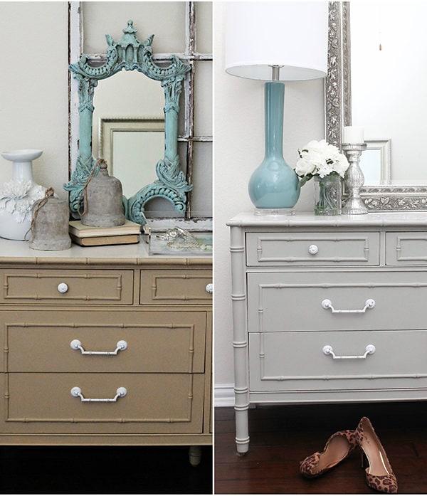 Chalk Furniture Paint Dresser Tutorial