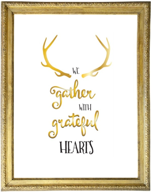 Grateful Hearts Tabler Party of Two, 30 Free Fall Printables