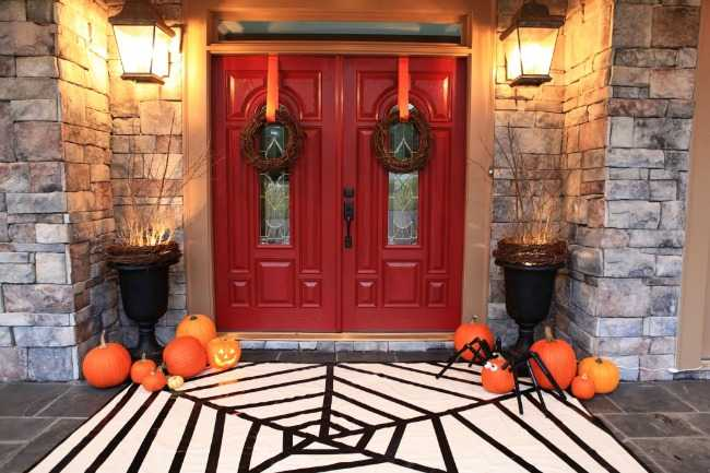Fall Halloween Front Porch Ideas