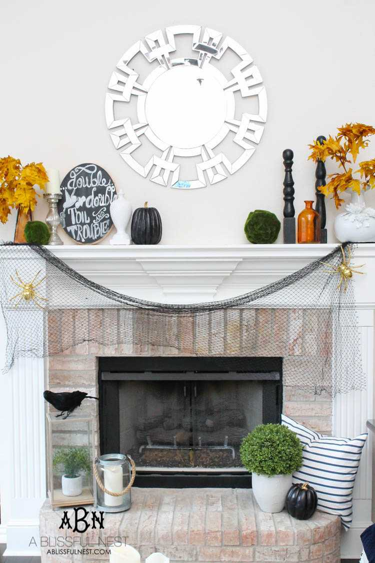 20 Ways to Decorate for Halloween + A Home Tour