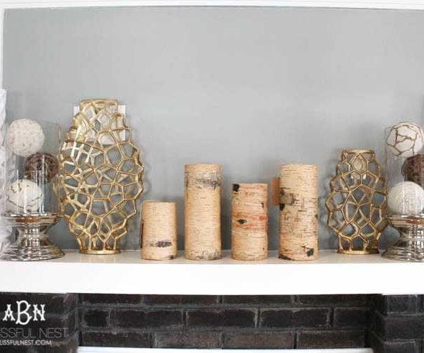 Modern Fall Mantle Decor Ideas