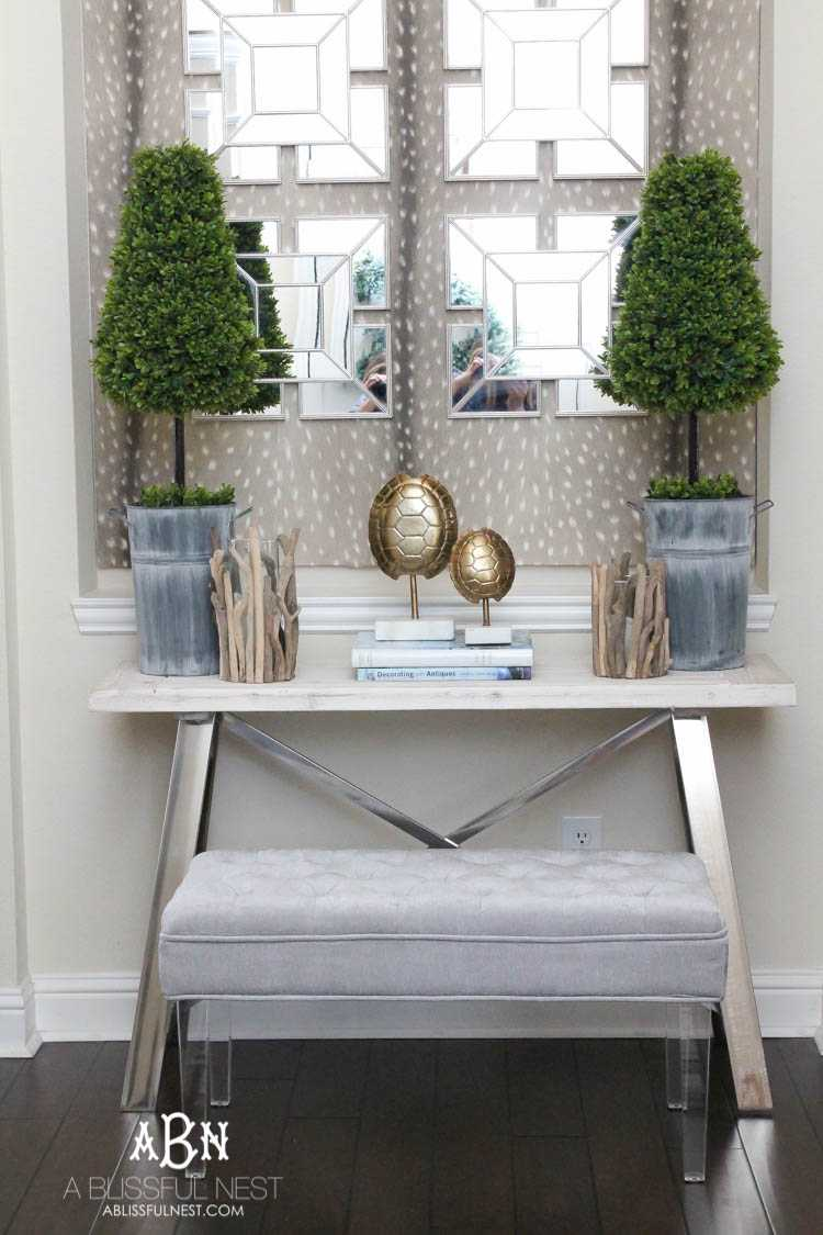 My Elegant Entryway Decor Mini Tour A Blissful Nest