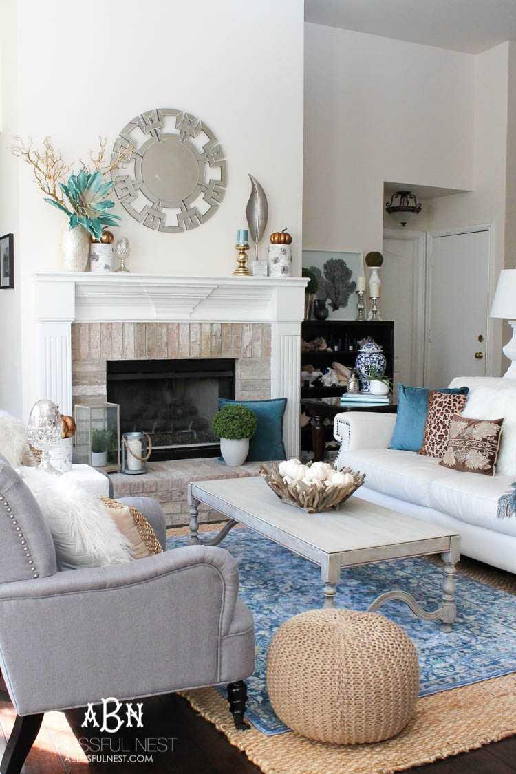 Fall Living Room Makeover Tips For Perfect Seasonal Decor - Pier 1 living room