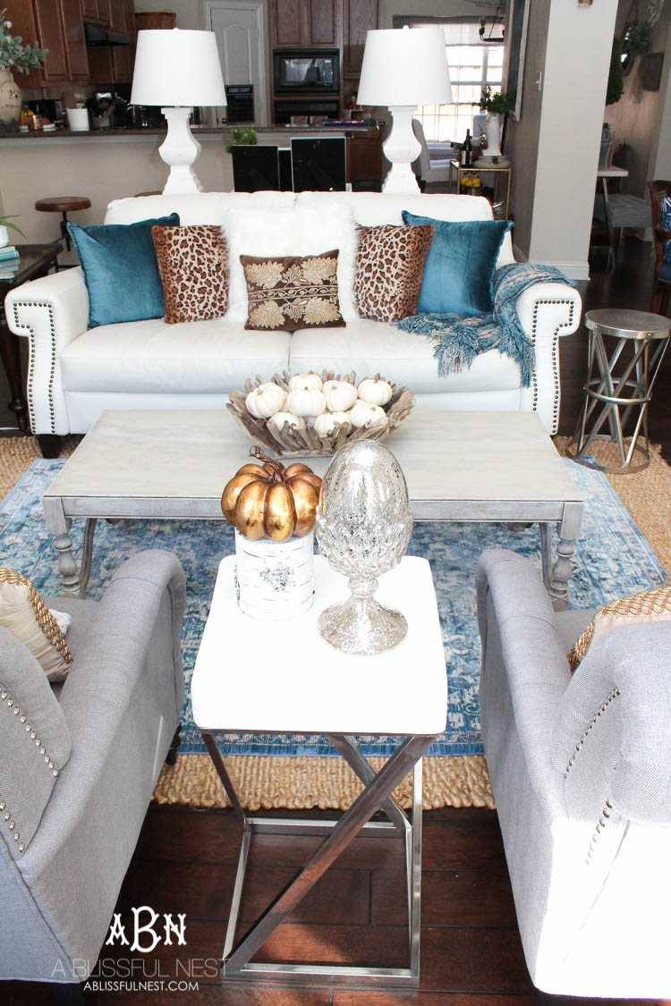 Fall Living Room Makeover + Tips For Perfect Seasonal Decor