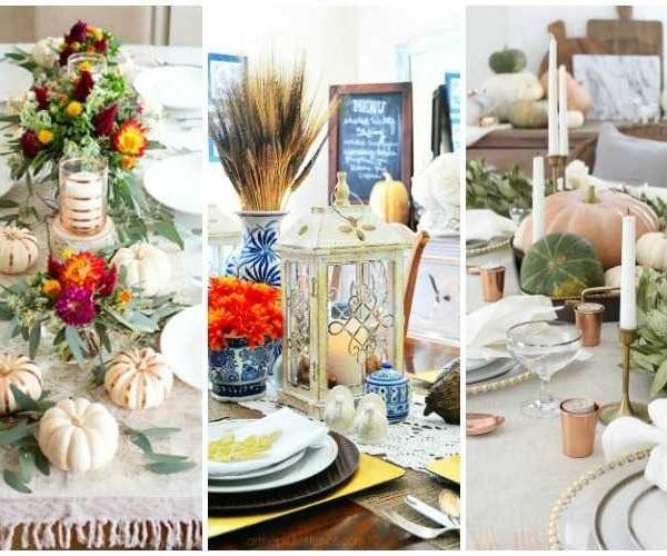 15 Gorgeous Thanksgiving Tables