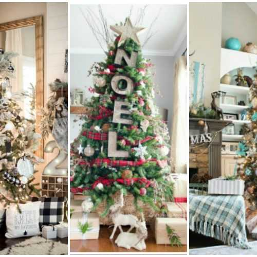 25 best christmas front porches ideas for the holidays for Amazing christmas tree decorations
