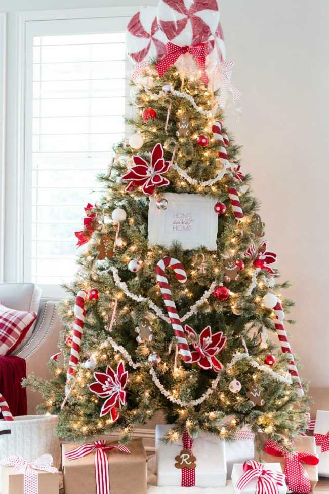 20 amazing christmas tree decorating ideas a blissful nest for Amazing christmas decorations