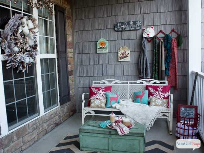 Winter Porch Decorating Ideas Part - 42: If You Are Looking For THE BEST Ideas For Christmas Front Porches, Then  These Are