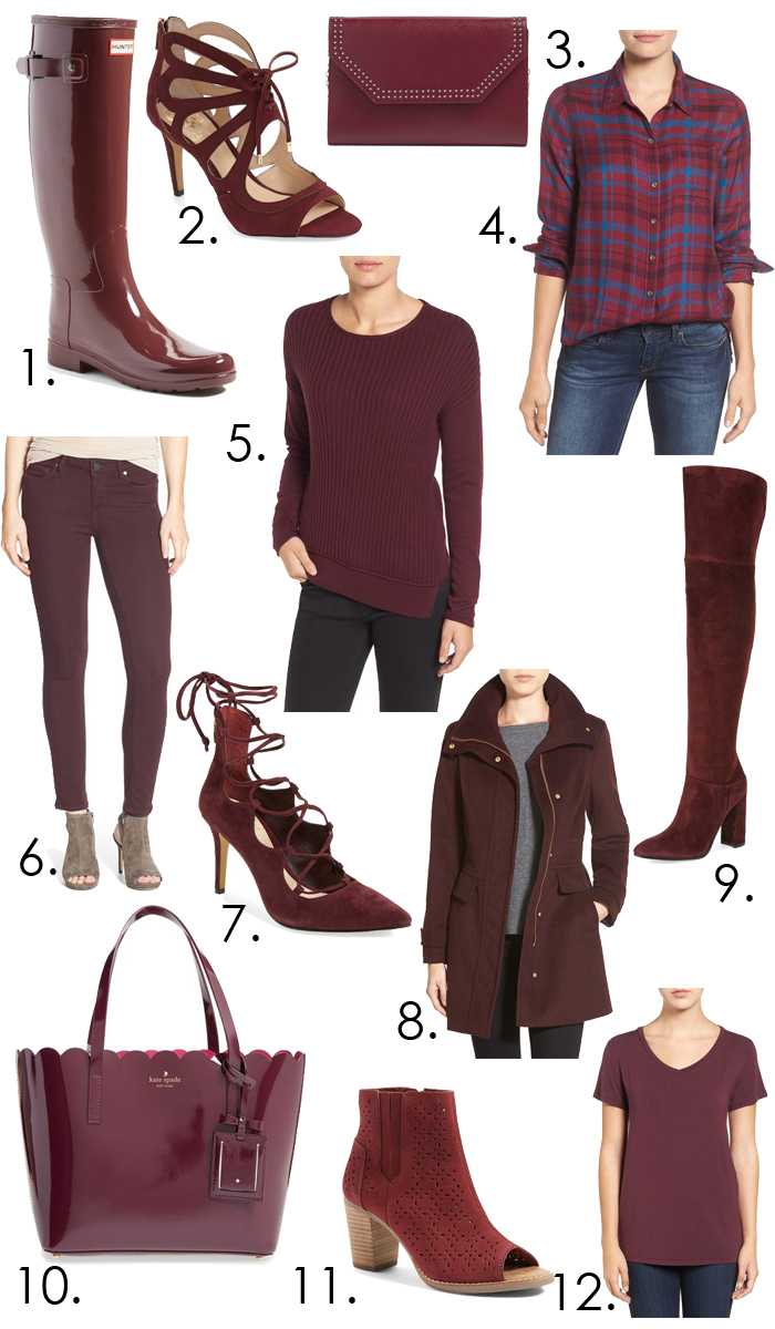 Our favorite color of the season and ALL of these are on sale!!