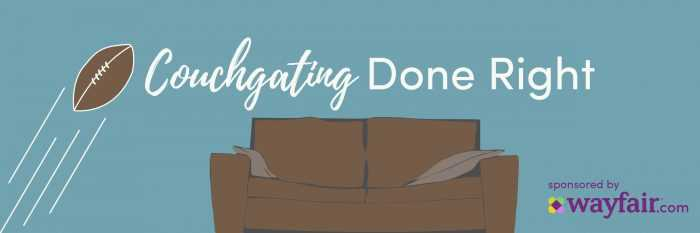 Couchgating Done Right with Wayfair