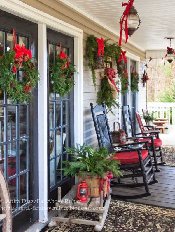 15 Best Images About Front Porch Ideas On Pinterest: 25 BEST Christmas Front Porches Ideas For The Holidays