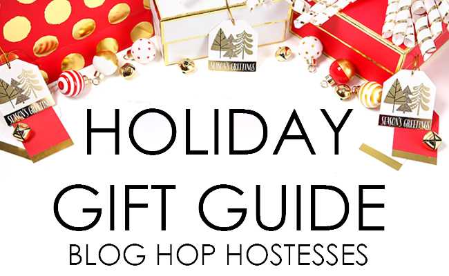Shop your favorite home bloggers holiday gifts with this year's Holiday Gift Guide 2016 Blog Hop!