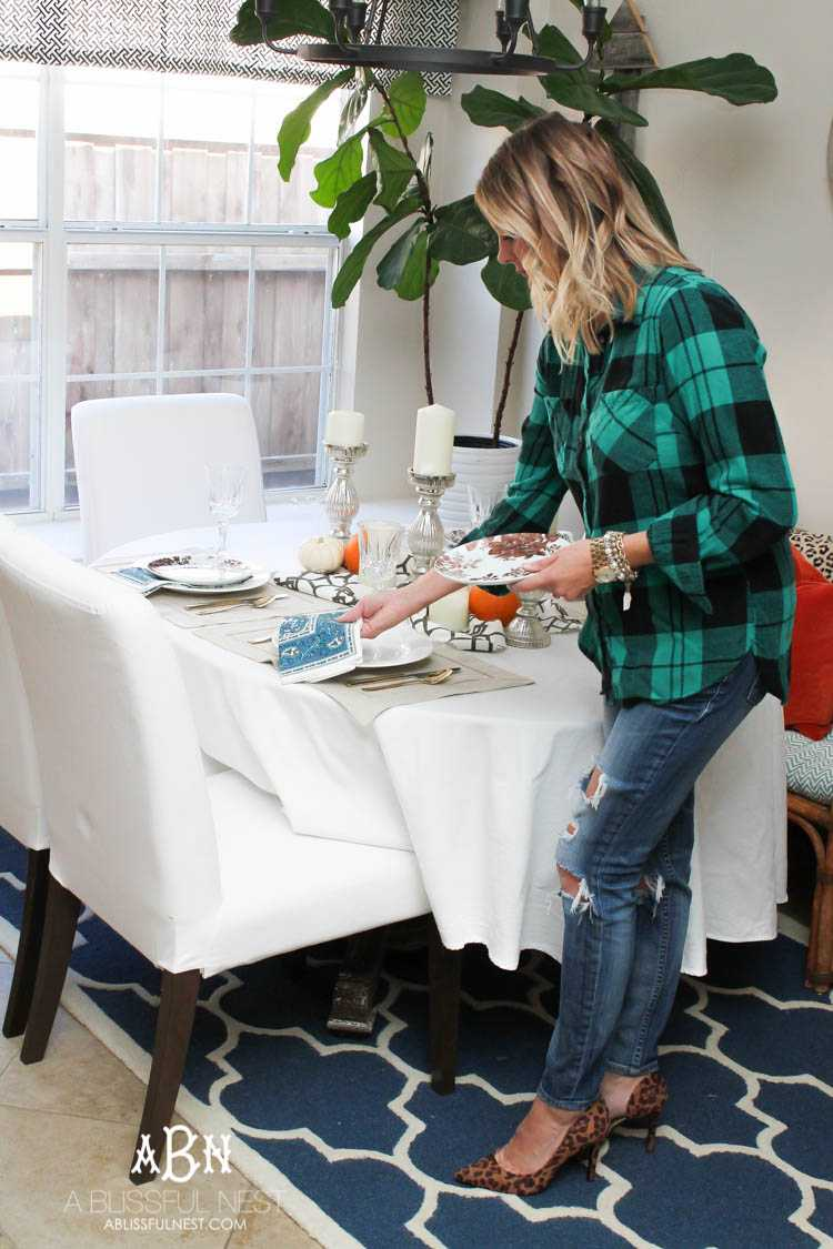 Is this your first year hosting Thanksgiving or are you stressed every year before your guests come over? Grab these 5 tips to have a stress-free Thanksgiving and the 1 thing you can't live without this holiday season! See more on https://ablissfulnest.com/ #ThankfulToBeClogFree #ad