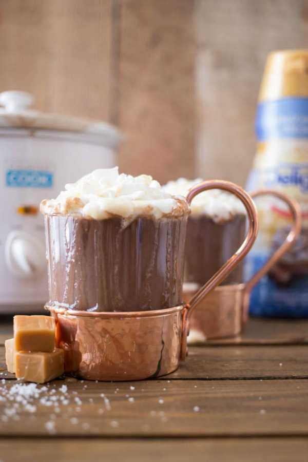 Salted Caramel Hot Chocolate, 10 Best Hot Cocoa Recipes