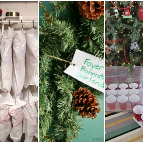Need to figure out how to store all that Christmas decor? These are some amazing tips! See more on https://ablissfulnest.com/