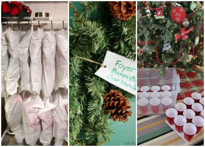15 brilliant christmas decoration storage hacks a blissful nest - Christmas Decoration Store