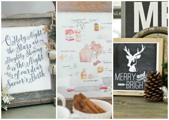 30 Free Christmas Printables You'll Love